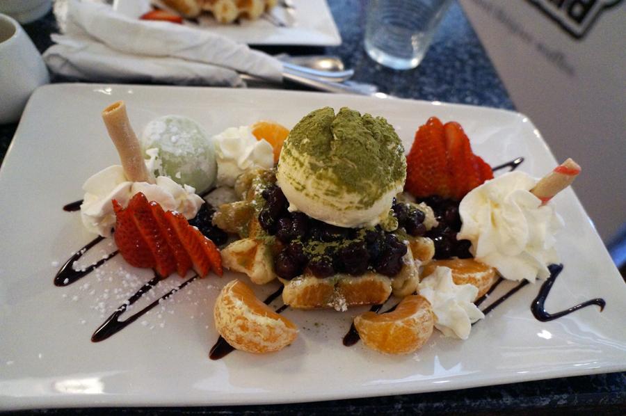 Japanese Matcha Waffle